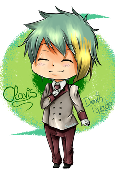 Chibi Clavis~Death Parade by Nite3007