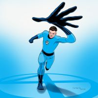Mr. Fantastic 1966 (Reed Richards) by arunion