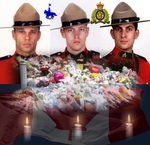 Honouring the Fallen Officers of June 4 2014 by Lady1Venus