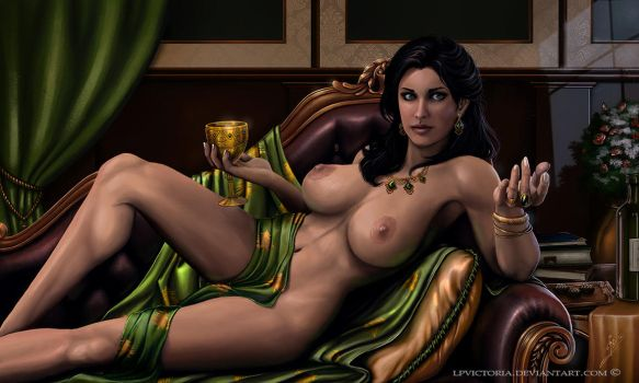 Brionna - Commission - Nude Version by LPVictoria