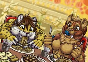 all you can eat by Schiraki