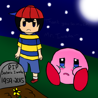 Thank you Mr Iwata by MonoTheGrump