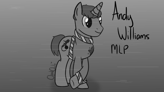 Request For Scarfy - Andy Williams MLP by OpalOwls
