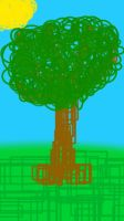 ABSTRACT TREE by PearlLuster