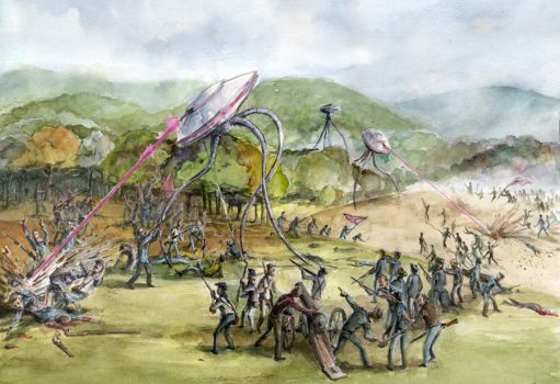 War of the Worlds by whiteflyinglizard