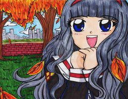 Tomoyo: I Love Autumn! by Magical-Mama