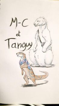 M-C et Tanguy  by Girole