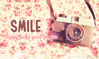 Everyday Quote #24: Say Cheese by sugarnote