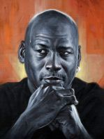 Michael Jordan by carts
