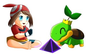 Baby May and Turtwig Champion