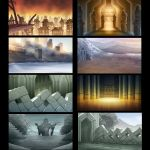 The Hobbit 3 HISHE Backgrounds by OtisFrampton