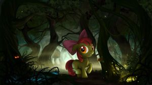 One Lost Apple by Devinian