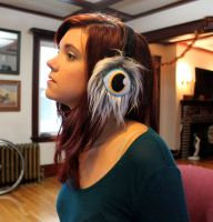 Cyclops Earmuffs by loveandasandwich