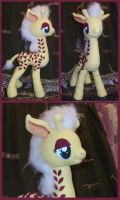 G1 Giraffe Pony Friend - MLP Plushie Contest by ListenMagician