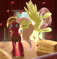 Kiss in the Barn by Vocalmaker