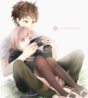 [Danganronpa] 2 player by Chubilee