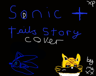 sonic and tails story cover by sexysonic15
