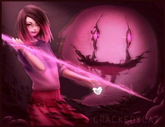 Glitchtale - Your sweetest fear by crackedycat