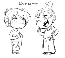 SZ: Babies by pianobelt0