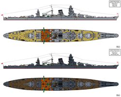 B-65 Type Battlecruiser Design by Tzoli