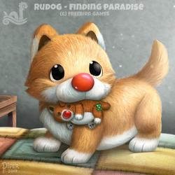 Rudog - Finding Paradise by Cryptid-Creations