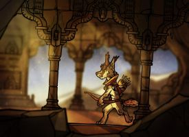 The Ruins by casual-dhole