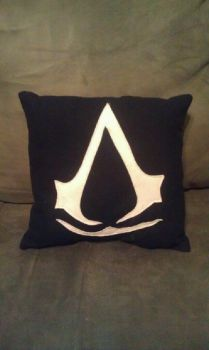 Assassin's Creed Pillow by Izit-Sama