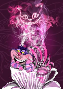 Cheshire Cat by madows