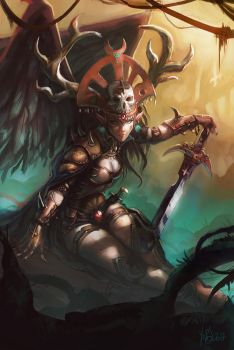 Death angel by Traaw