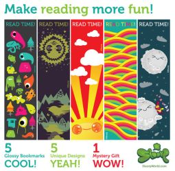 Fun Bookmarks Pack by SloorpWorld