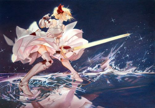 Fate stay night: Saber Lily by Angelstorm-82