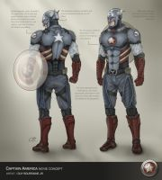 Captain America Concept 2 by tiguybou