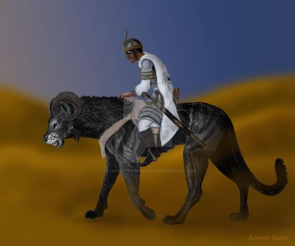 Prince Inan Approaches Ibeji by IllustratedMenagerie