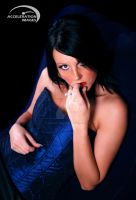 Lady in Blue by AccelerationImages