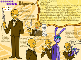 Polimerase Character Sheet by byona