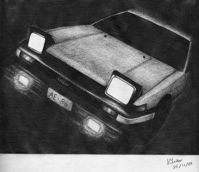 AE86 Part 1 by zhii