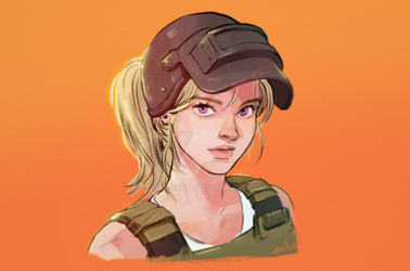 PUBG Lv.3 Helmet and Armor by Hey-SUISUI