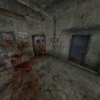 Silent Hill - Underpass bloody room by Mageflower