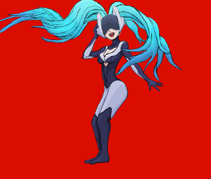 DJ Sona Sketch by altimis