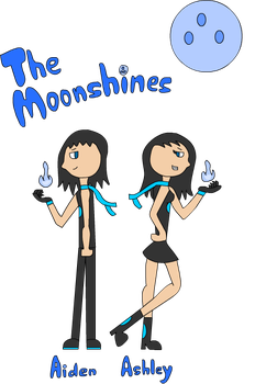 Aiden and Ashley Moonshine by JacobToonz