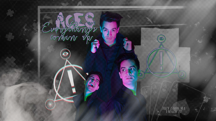 Brendon urie wallpaper [large] by crystalrayne24