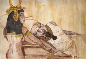 Isis and Osiris - Resurrection by egypt-club