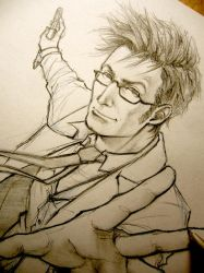 I am the Doctor! - Doctor Who WIP by Lehanan