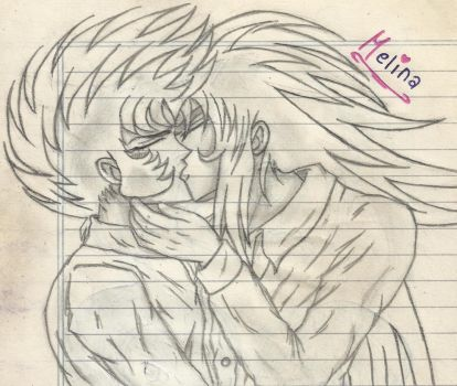 Saint Seiya: Saga x Shura by PrincessPop13