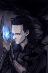 Loki in Avengers by l3onnie