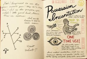 Gravity Falls Journal 2 Replica - Possession by leoflynn