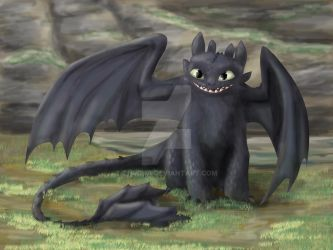 Toothless by Zhucha