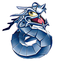Toon Cyber Dragon PNG by Carlos123321