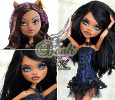 MH Clawdeen repaint #15 ~Beah~ by RogueLively