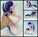 Starlight Glimmer MLP Baby Beanie Plushie by MayEsdot